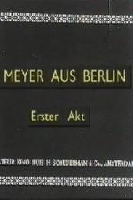 Meyer aus Berlin (1919) afişi