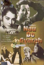 Nau Do Gyarah (1957) afişi