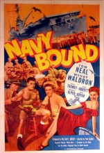 Navy Bound (1951) afişi
