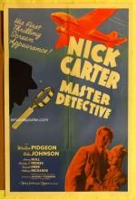 Nick Carter, Master Detective (1939) afişi