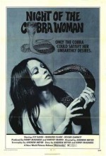 Night Of The Cobra Woman (1972) afişi