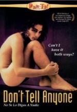 No Se Lo Digas A Nadie (1998) afişi