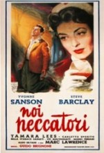 Noi Peccatori (1953) afişi