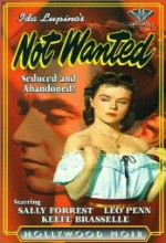 Not Wanted (1949) afişi