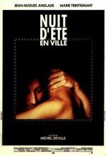 Nuit D'été En Ville (1990) afişi