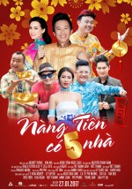 Nang Tien Co 5 Nha (2017) afişi