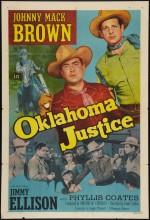 Oklahoma Justice (1951) afişi