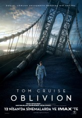 Oblivion (2013) afişi