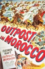 Outpost In Morocco (1949) afişi