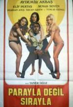Parayla Değil Sırayla (1975) afişi