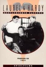 Pardon Us (1931) afişi