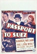 Passport To Suez (1943) afişi