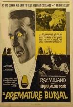 Premature Burial (1962) afişi