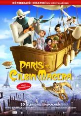 Paris'te Çılgın Macera (2011) afişi