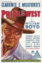 Pride Of The West (1938) afişi