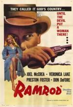 Ramrod (1947) afişi