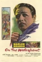 Rıhtımlar Üzerinde (1954) afişi