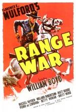 Range War (1939) afişi