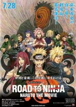 Road to Ninja: Naruto the Movie (2012) afişi