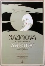 Salome (1923) afişi