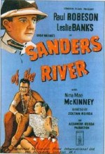Sanders Of The River (1935) afişi