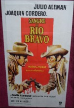 Sangre En Río Bravo (1966) afişi