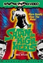 Satan In High Heels (1962) afişi