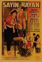 Sayın Bayan (1963) afişi
