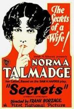 Secrets (1924) afişi