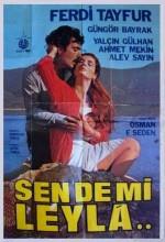 Sen De Mi Leyla (1982) afişi