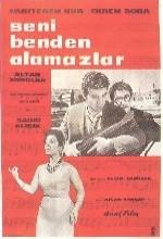Seni Benden Alamazlar (1961) afişi
