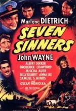 Seven Sinners (1940) afişi
