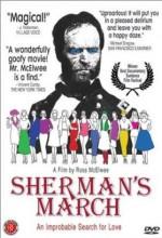 Sherman'ın Yürüyüşü (1986) afişi