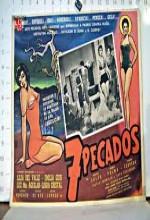Siete Pecados (1959) afişi