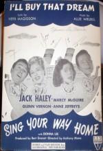 Sing Your Way Home (1945) afişi
