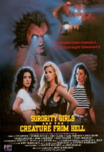 Sorority Girls And The Creature From Hell (1990) afişi