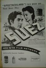 Suez (1938) afişi