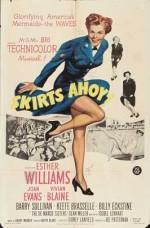 Skirts Ahoy! (1952) afişi