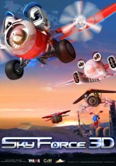 Sky Force: Planes 3D (2012) afişi