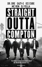 Straight Outta Compton (2015) afişi