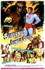 Superman And The Jungle Devil (1954) afişi