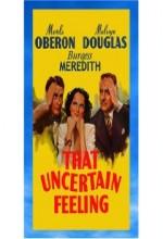 That Uncertain Feeling (1941) afişi