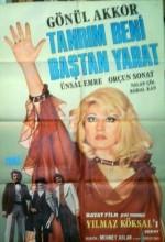 Tanrım Beni Baştan Yarat (1974) afişi