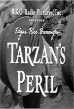 Tarzan's Peril (1951) afişi
