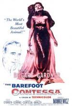 Çıplak Ayaklı Kontes (1954) afişi
