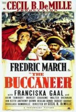The Buccaneer (1938) afişi