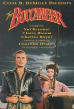 The Buccaneer (1958) afişi