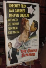 The Great Sinner (1949) afişi
