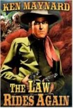 The Law Rides Again (1943) afişi