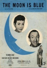 The Moon Is Blue (1953) afişi